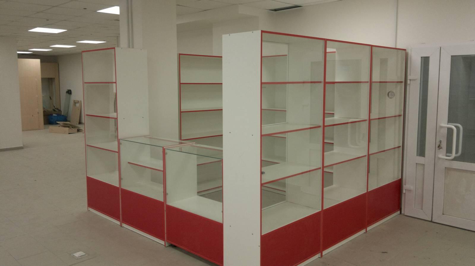 Торговая мебель прилавки, стеллажи, витрины , фото. цена - д.